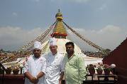 Boudhanath Stupa, Golden Eyes Restaurant